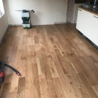 wooden floor made and laid by for Inspire Joinery and Renovations