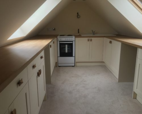 image of kitchen being renovated for Inspire Joinery and Renovations