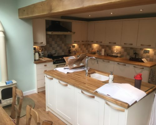 image of wooden kitchen from inspire joinery and renovations