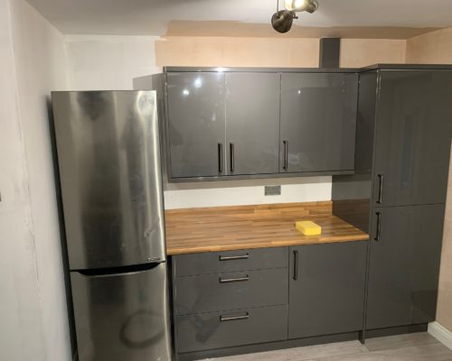 image of fitted kitchen for inspire joinery and renovations