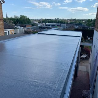 underlay black roof for Inspire joinery and renovations flat roof repair & fibreglass roofing