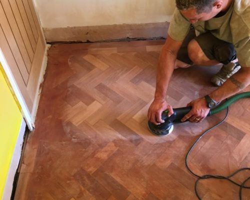 Parquet floor made by for Inspire Joinery and Renovations